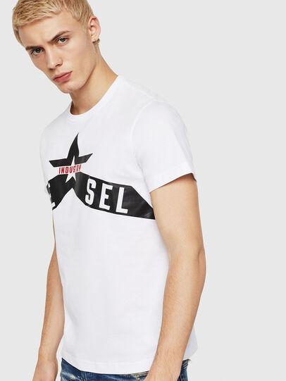 Diesel - T-DIEGO-A7, Blanco - Camisetas - Image 1