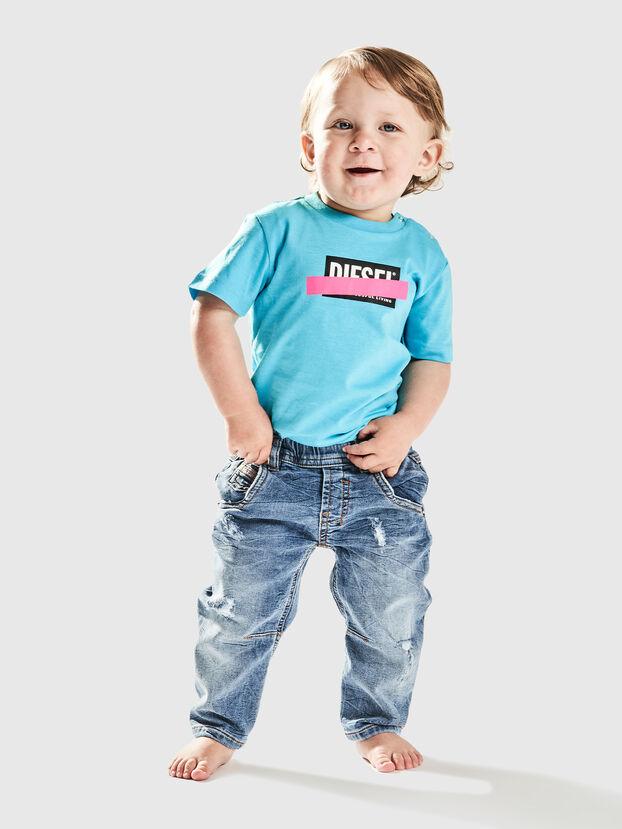 TJUSTDIXB, Celeste - Camisetas y Tops