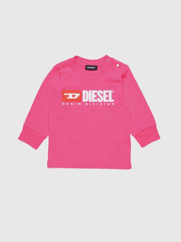 TJUSTDIVISIONB ML, Fucsia - Camisetas y Tops