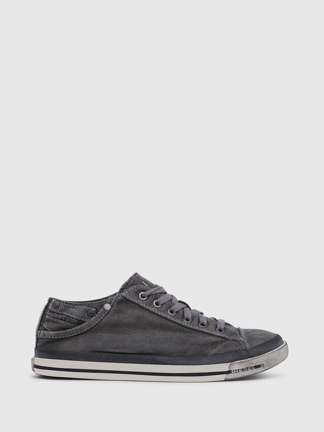 Diesel - EXPOSURE IV LOW  W, Gris Metal - Sneakers - Image 1