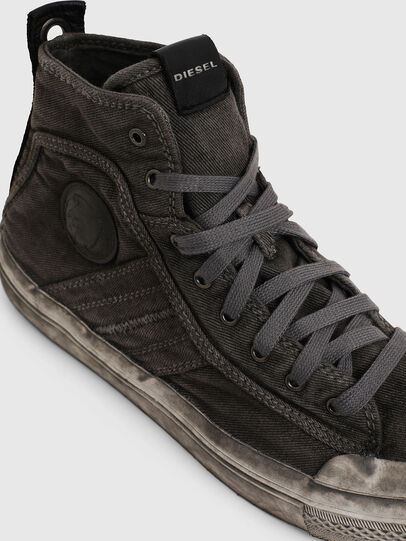 Diesel - S-ASTICO MID LACE, Gris oscuro - Sneakers - Image 4