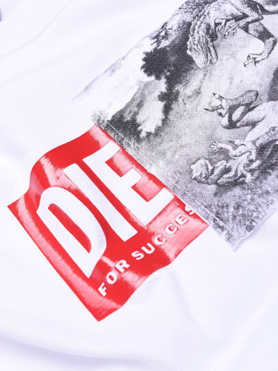 Diesel - TJUSTXH, Blanco - Camisetas y Tops - Image 3