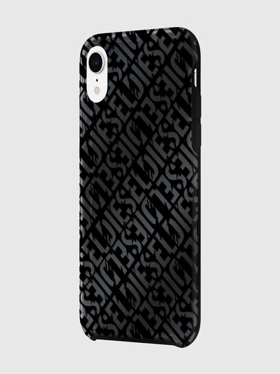 Diesel - DIESEL PRINTED CO-MOLD CASE FOR IPHONE XR, Negro - Fundas - Image 5