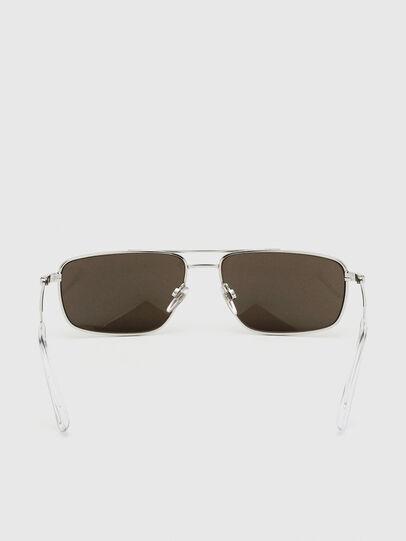 Diesel - DL0308, Blanco - Gafas de sol - Image 4