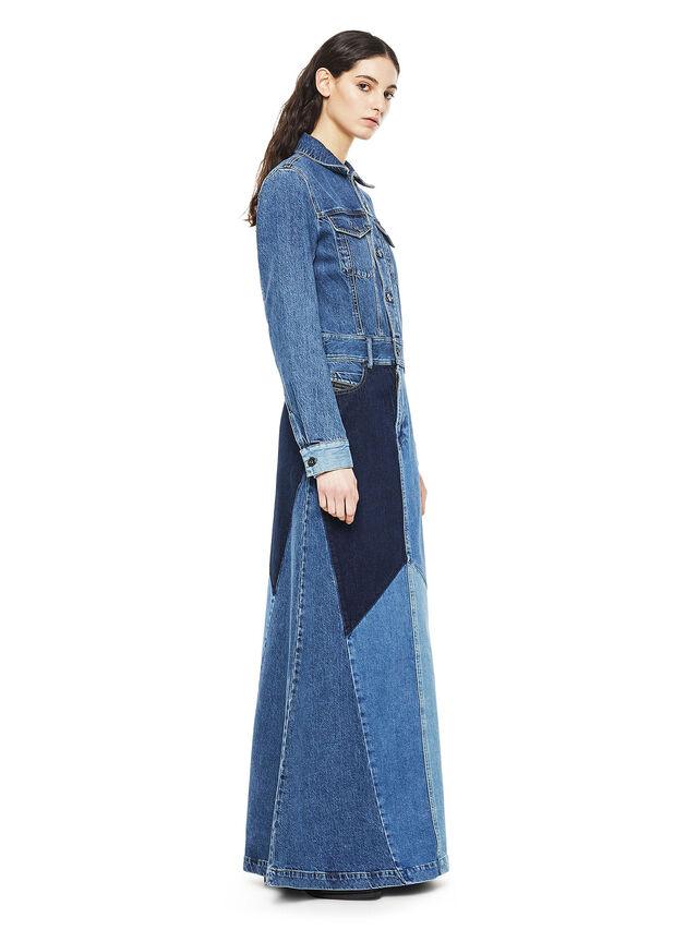 Diesel - DINAP, Blue Jeans - Vestidos - Image 3