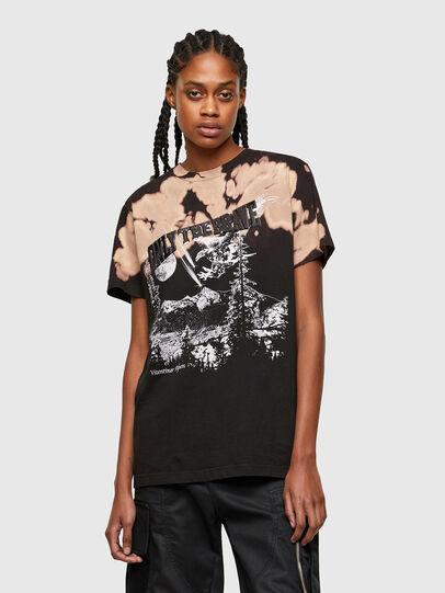 Diesel - T-DARIA-R4, Negro - Camisetas - Image 1