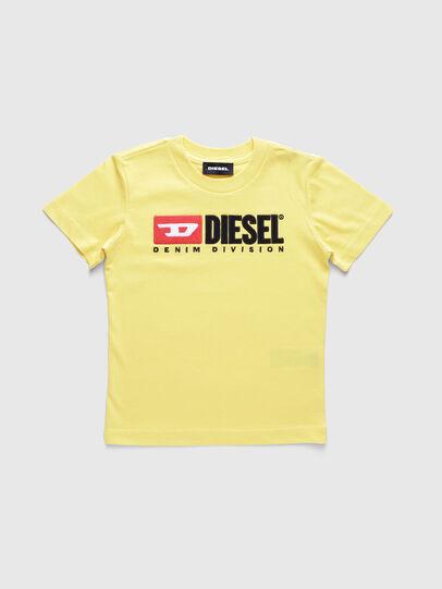 Diesel - TJUSTDIVISIONB-R, Amarillo - Camisetas y Tops - Image 1