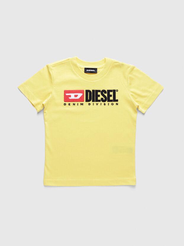 TJUSTDIVISIONB-R, Amarillo - Camisetas y Tops