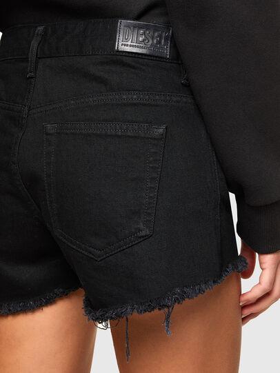 Diesel - DE-RIFTY, Negro - Shorts - Image 4