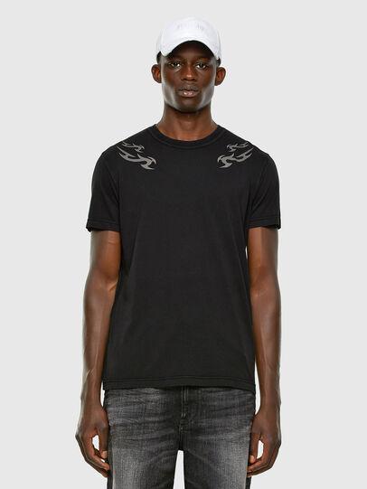 Diesel - T-DIEBIND, Negro - Camisetas - Image 5