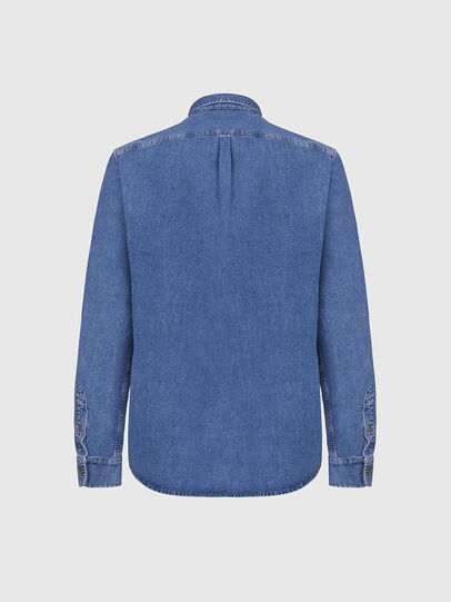 Diesel - D-BILLY, Azul Claro - Camisas de Denim - Image 2