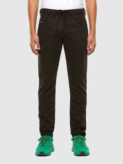 Diesel - Thommer JoggJeans® 069NC, Negro/Gris oscuro - Vaqueros - Image 1