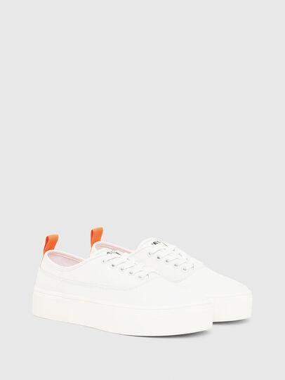 Diesel - S-VANEELA LOW, Blanco/Naranja - Sneakers - Image 2