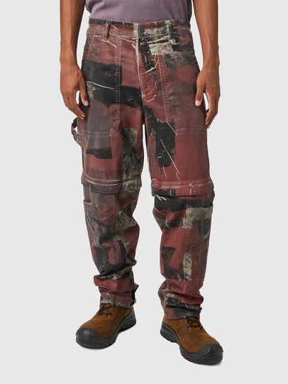 Diesel - D-Multy JoggJeans® 0CEAM, Rosa/Negro - Vaqueros - Image 1