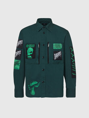 S-MARCUS, Verde Oscuro - Camisas