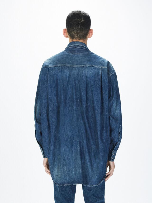 Diesel - SOTS01, Blue Jeans - Camisas - Image 5