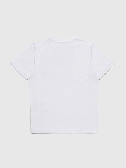 Diesel - TBMOW, Blanco/Rojo - Camisetas y Tops - Image 2