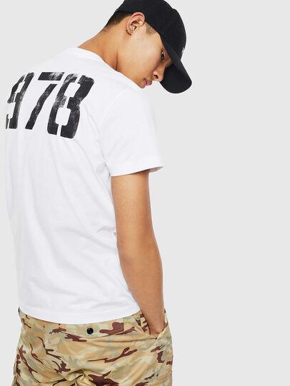 Diesel - T-DIEGO-S2, Blanco - Camisetas - Image 2