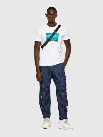 Diesel - T-DIEGOS-K16, Blanco - Camisetas - Image 4