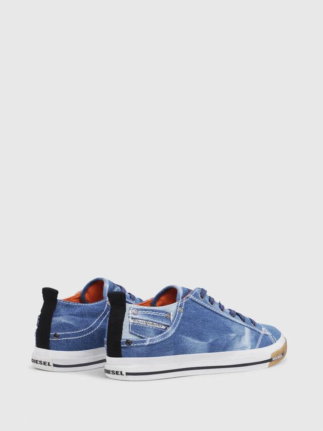 Diesel - EXPOSURE LOW I, Blue Jeans - Sneakers - Image 3