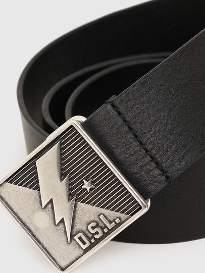 Diesel - B-MONT, Negro - Cinturones - Image 2