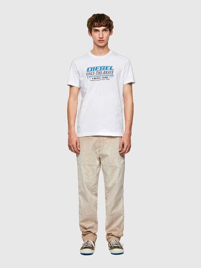 Diesel - T-DIEGOS-K20, Blanco - Camisetas - Image 4