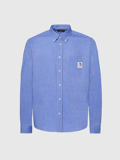 Diesel - S-JAMES, Azul - Camisas - Image 1
