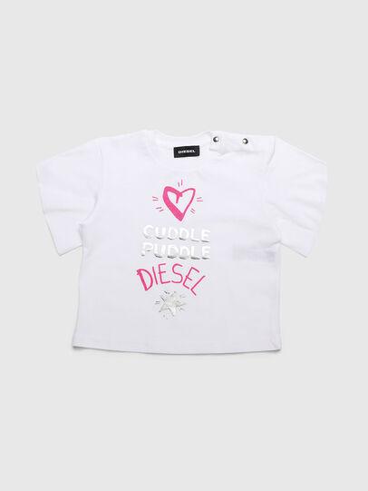 Diesel - TUNGIB, Blanco - Camisetas y Tops - Image 1