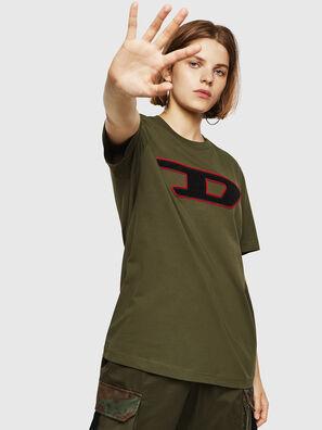 T-JUST-DIVISION-D-FL, Verde Militar - Camisetas