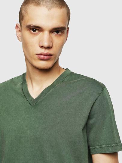 Diesel - T-THEA, Verde Oscuro - Camisetas - Image 3