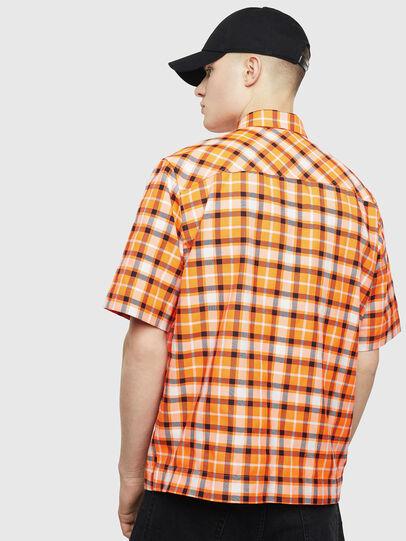Diesel - S-ATWOOD-A, Naranja - Camisas - Image 2