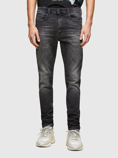 Diesel - D-Reeft JoggJeans® 009SU, Negro/Gris oscuro - Vaqueros - Image 1