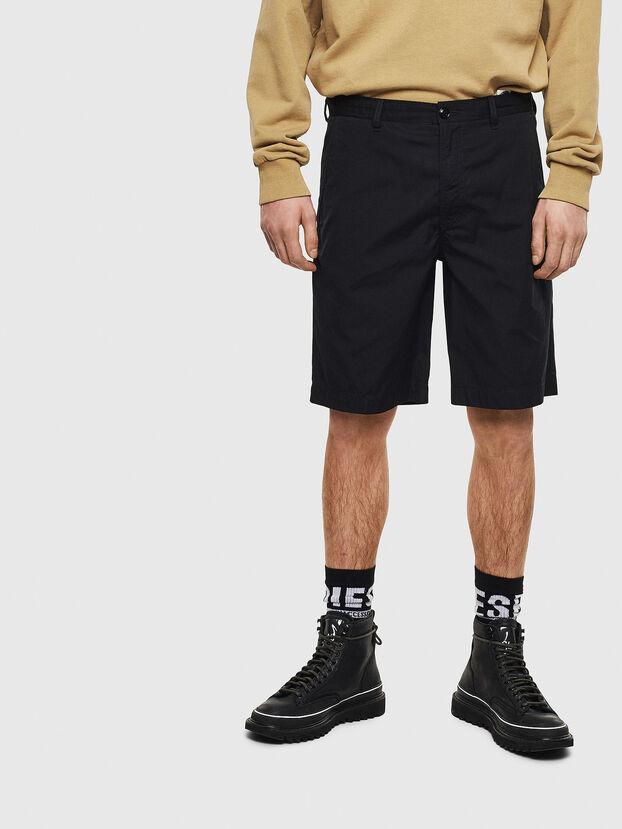 P-MATTHEW, Negro - Shorts