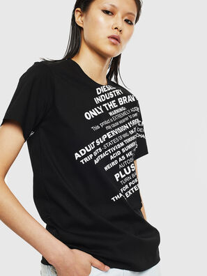 T-SILY-S1, Negro - Camisetas