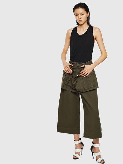 Diesel - P-RAEY, Verde Militar - Pantalones - Image 7