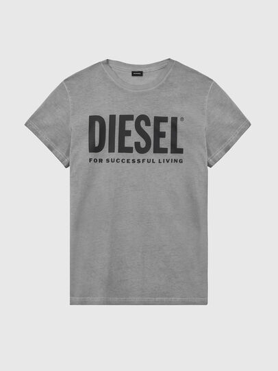 Diesel - T-SILY-WX, Gris oscuro - Camisetas - Image 1