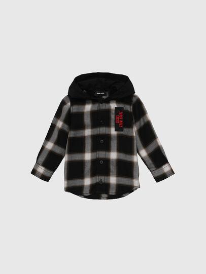 Diesel - CIBONB, Negro - Camisas - Image 1