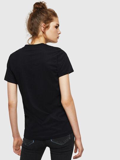 Diesel - T-SILY-WN, Negro - Camisetas - Image 2