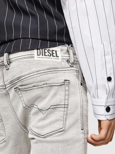 Diesel - Sleenker 0090F, Gris Claro - Vaqueros - Image 5