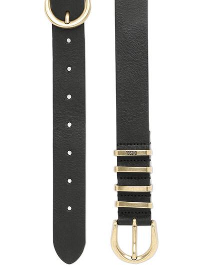 Diesel - B-STALLY, Negro - Cinturones - Image 4