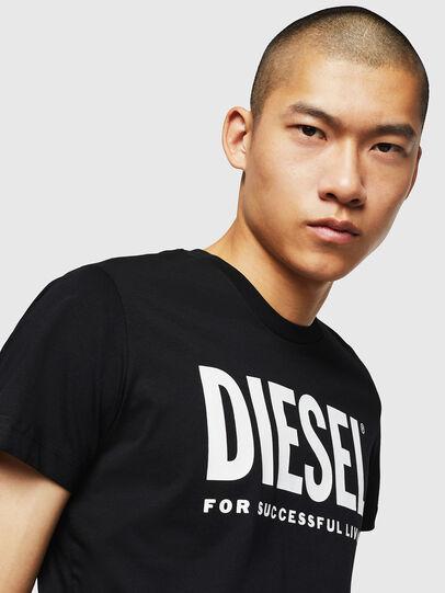 Diesel - T-DIEGO-LOGO, Negro - Camisetas - Image 3