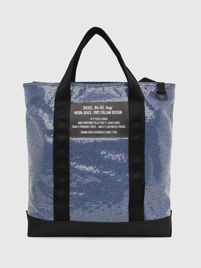 Diesel - F-THISBAG SHOWAY, Azul/Negro - Bolsos Shopper y Al Hombro - Image 1