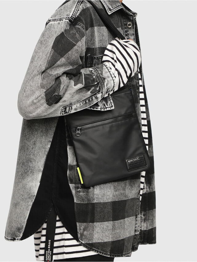 Diesel - F-DISCOVER CROSS, Negro - Bolso cruzados - Image 6