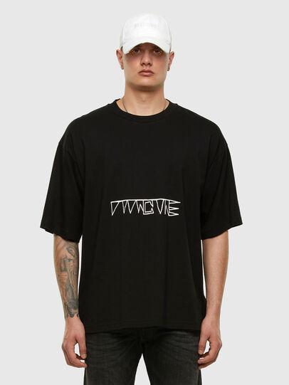 Diesel - T-BALL-X1, Negro - Camisetas - Image 5