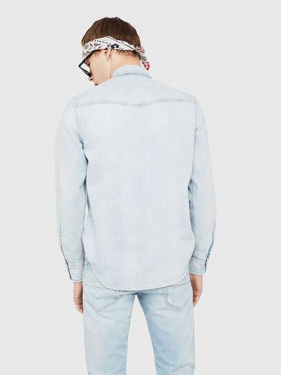 Diesel - D-EAST-P, Blue Jeans - Camisas de Denim - Image 2