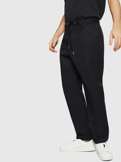 Diesel - P-MORGY, Negro - Pantalones - Image 4