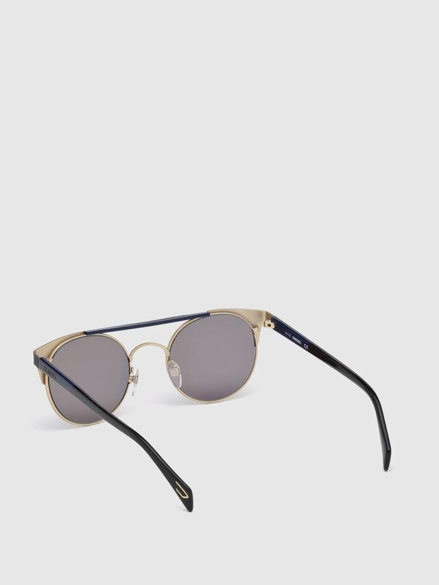 Diesel - DL0218, Negro/Azul - Gafas de sol - Image 2