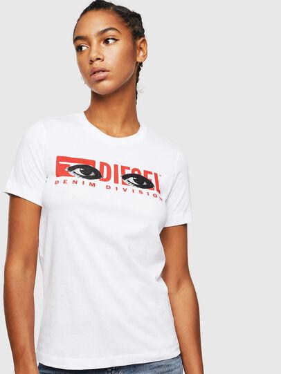 Diesel - T-SILY-YD, Blanco - Camisetas - Image 1