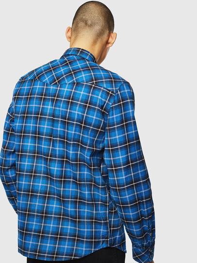 Diesel - S-EAST-LONG-N, Azul - Camisas - Image 2