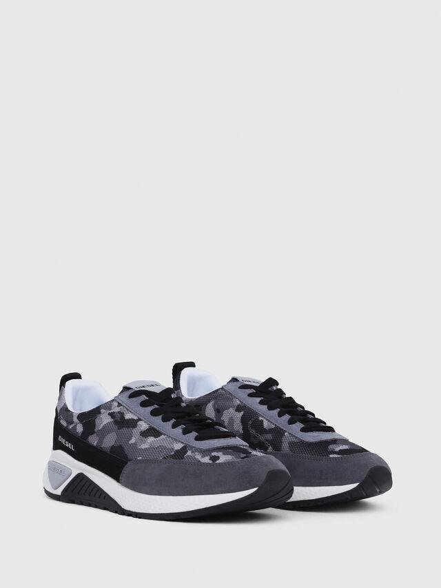 Diesel - S-KB LOW LACE, Gris/Negro - Sneakers - Image 2